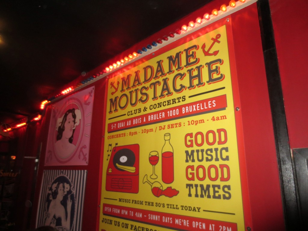 New Year's Eve at Madame Moustache in Brussels